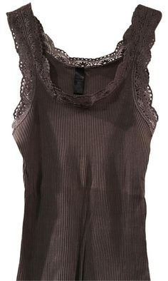 Mode Outfits, New Outfits, Fashion Outfits, Cute Casual Outfits, Pretty Outfits, Lace Trim Tank Top, Lace Tank Tops, Twilight Outfits, 2000s Fashion