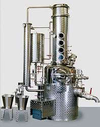 Holstein Arnold Destillation Brennerei Markdorf: Distillation unit types up to 150 l