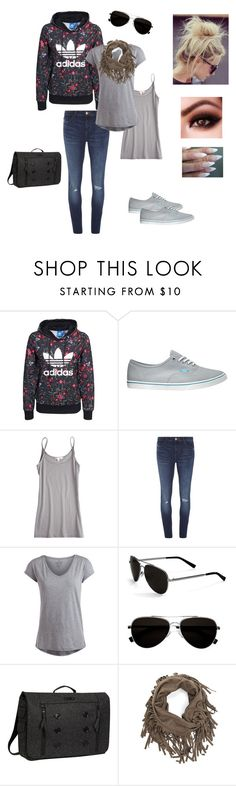 """""""Untitled #223"""" by adrianne-baier ❤ liked on Polyvore featuring adidas Originals, Vans, Calypso St. Barth, Dorothy Perkins, Pieces, Calvin Klein and OGIO"""