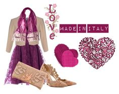 """LOVE MADE IN ITALY"" by laura-ferrari-mercier on Polyvore featuring moda, Cinti e H²O Luxury"