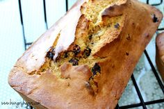 Butternut Squash-Banana Bread with Cranberries. The loaf is gone and I want more!!