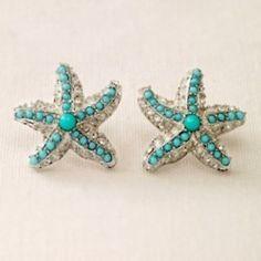 starfish + turquoise!!