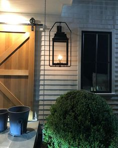 Tamara Magel (@tamaramageldesign) • Instagram photos and videos Summer Nights, Front Porch, Garage Doors, Wall Lights, Photo And Video, Lighting, Outdoor Decor, Instagram, Home Decor