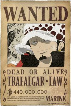 Trafalgar Law Wanted