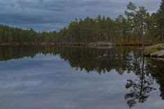 Quite evening by the Lake by Ole Morten Eyra