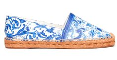 Les espadrilles Maiolica de Dolce & Gabbana