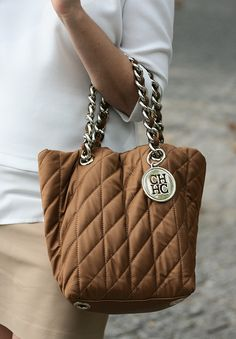 carolina herrera bag, camel, gold, carteira, mala, carolina herrera, bolso