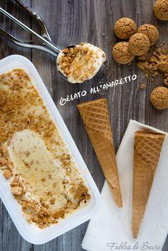 Fra i tanti gusti possibili, il gelato all'amaretto è davvero da provare, con il suo gusto delicato e profumato alle mandorle e la sua cremosità è perfetto