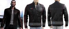 #MassEffect Gaming #N7 Leather #Jacket now available at the best discounted rate and with free USA shipment. http://www.fanjackets.com/products/mass-effect-3-n7-leather-jacket.html #mens #swag #sales #deals #shopping #mensfashion #clothing #cosplay #celebs #celeb