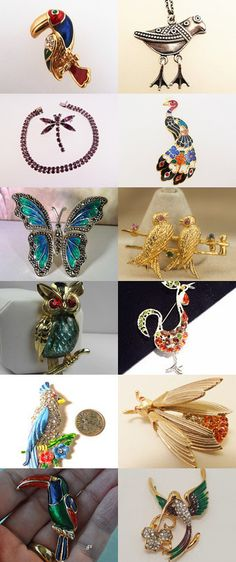 Winged Things by Linda on Etsy--Pinned+with+TreasuryPin.com