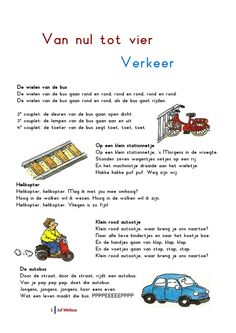 Liedjespagina: Verkeer Transportation, Homeschool, Teaching, Education, Kids, Autos, Heroes, Young Children, Boys