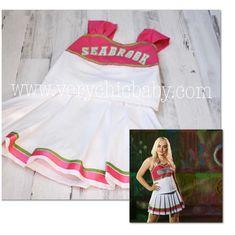 7A ~ DRESS ~ BARBIE DOLL MATTEL ZOMBIES 2 ADDISON WELLS PINK CHEERLEADER UNIFORM