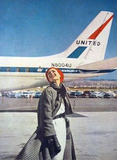 Vogue - Travel in Style 1959    www.facebook.com/VintageAirliners  www.vintageairliners.com