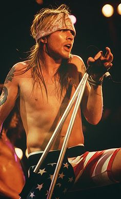 back in the day.  Axl Rose