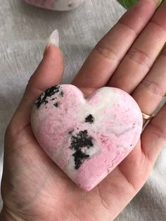 Rhodochrosite Heart Crystal Healing, Things To Come, Crystals, Tattoos, Heart, Tatuajes, Tattoo, Crystal, Crystals Minerals
