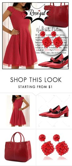 """""""Rosegal 64"""" by aida-ida ❤ liked on Polyvore featuring vintage"""