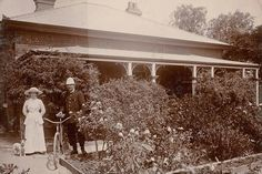 Moama Police Station,Lock Up and Police Residence in the Riverina region of New South Wales in 1914. •Justice & Police Museum•