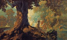 maxfield parrish paintings - Google Search