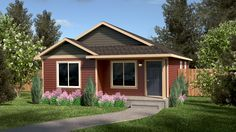 Anna Belle | True Built Home | On your lot builder | New home | Built on your lot | Rambler | Blue Prints | House Plan | Plans | Home | ADU | Accessory Dwelling Unit | Mother In Law