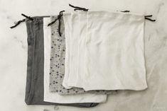 diy sacs à vrac leger Going Zero Waste, Wardrobe Rack, Home, Sewing, Dyi, Passion, Nature, Good Ideas, Dressmaking