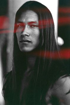 Native model, actor and youth advocate, Martin Sensmeier.