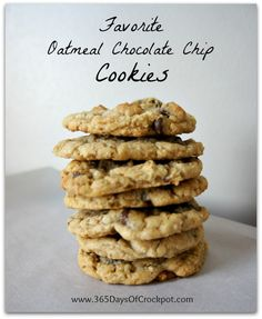 My+Favorite+Oatmeal+Chocolate+Chip+Cookies