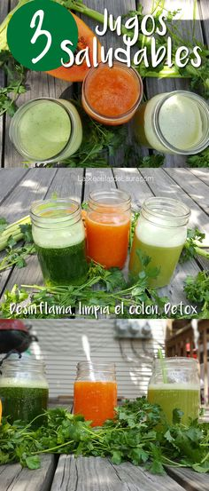 3 Recetas de jugos saludables para desinflamar y desintoxicar el cuerpo!