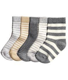 5-pack baby socks - H&M US