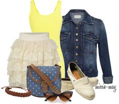 """Sunshine Oh My!"" by missie-may on Polyvore"