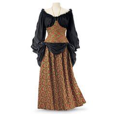 Renaissance Maiden Ensemble - Women's Clothing & Symbolic Jewelry – Sexy, Fantasy, Romantic Fashions