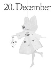 4. Advent Sunday, 20th of December and only 4 days until Christmas! The design of the day is our White Fairy with Heart, large. Like our Facebook page & the post of the day and you might be the lucky winner! The Fairy with Heart costs 149,- dkk in our web-shop www.jettefroelich.dk, but for today only! (Normal price 299,-) #christmascalendar #christmasgiveaway #facebook #whitefairywithheart #jettefrölich #jettefroelich #jettefrölichdesign #jettefroelichdesign #danishdesign #scandinaviandesign