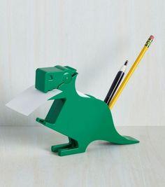 Achetez le porte mémo dinosaure pratique pour ne plus perdre vos feuilles volantes sur lavantgardiste.