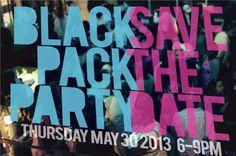 The 2013 Black Pack Party #bpp2013 RSVP Here: http://bpp13.eventbrite.com/