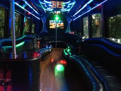 30 Passenger Party Bus - Give us a call and get a quote! 408-733-1275 or 877-524-2775