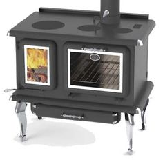 Wood Stove Hearth, Diy Wood Stove, Stove Fireplace, Wood Burning Cook Stove, Wood Stove Cooking, Kitchen Stove, Kitchen Cooker, Foyers, Stoves For Sale