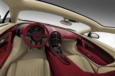 Intérieur de la Bugatti Veyron La Finale
