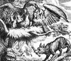Fabel von Äsop: Der Adler und der Fuchs