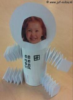 Resultat d'imatges de thema astronaut im kindergarten Planets Activities, Space Activities, Activities For Kids, Space Projects, Science Projects, Space Crafts Preschool, Space Theme Classroom, Planet Crafts, Solar System Projects