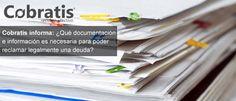 Documentacion reclamacion deuda