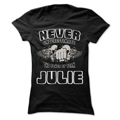 Never Underestimate ᗗ The Power Of Team JULIE - 99 Cool Team Shirt ٩(^‿^)۶ !If you are JULIE or loves one. Then this shirt is for you. Cheers !!!Never Underestimate The Power Of Team JULIE, cool JULIE shirt, cute JULIE shirt, awesome JULIE shirt, great JULIE shirt, team JULIE shirt, JULIE mom s