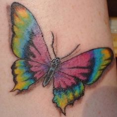 pretty butterfly tattoo. we could each have half!