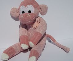 A personal favorite from my Etsy shop https://www.etsy.com/listing/269964975/handmade-sock-monkey-belle-the-original