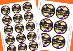 GRATIS de Halloween Etiquetas y primeros de la magdalena- Amanda's Parties To Go