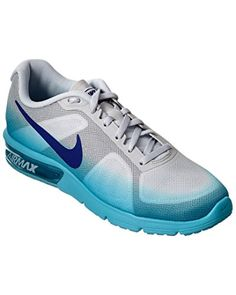 82633f91aa40 Nike Womens Air Max Sequent Running Shoe 6 Blue     Read more reviews of the  product by visiting the link on the image. (This is an affiliate link)   ...