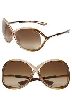 5.30.14: tom ford 'whitney' 64mm open side sunglasses available at #nordstrom.