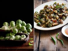 Fried Crispy Brussels Sprouts with Sweet Chili Fish Sauce Dip from White On Rice Couple