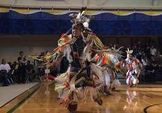 Beautiful Slo Mo footage of Pow Wow dancers