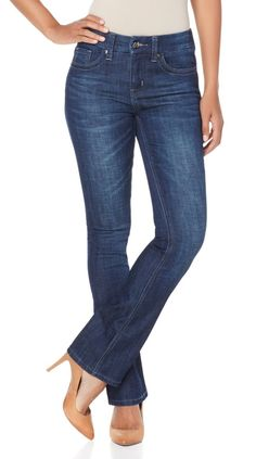 9e08efc5cef2c Melissa McCarthy Seven7 Slim Boot-Cut Jean - 7831235