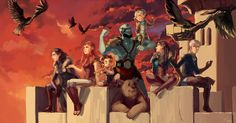 Critical Role 50th Episode Fan Art Gallery | Geek and Sundry