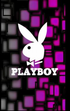 Wallpaper For Your Phone, Cool Wallpaper, Mobile Wallpaper, Iphone Wallpaper, Pink Polka Dots Wallpaper, The Playboy Club, Playboy Logo, Bunny Logo, Logo Background